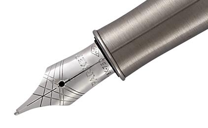 Stylo plume Sonnet laque perle et métal - photo 3