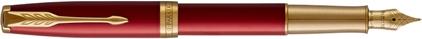 Stylo plume Sonnet laque rouge, cliquez pour plus de détails sur ce stylo...