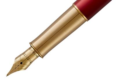 Stylo plume Sonnet laque rouge - photo 4