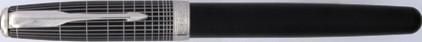 Stylo roller Sonnet Ciselé noir mat de Parker, cliquez pour plus de détails sur ce stylo...