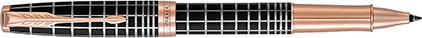 Roller Sonnet laque marron soft, cliquez pour plus de détails sur ce stylo...