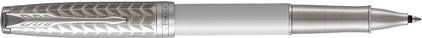Roller Sonnet laque perle et métal, cliquez pour plus de d�tails sur ce stylo...