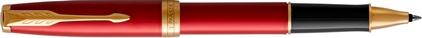 Roller Sonnet laque rouge, cliquez pour plus de d�tails sur ce stylo...