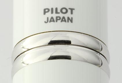 Stylo plume Blanc de la gamme Capless Rhodium de Pilot - photo 3