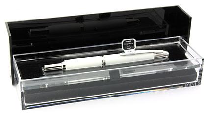Stylo plume Blanc de la gamme Capless Rhodium de Pilot - photo 5