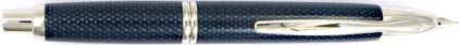 Stylo plume Graphite bleu de la gamme Capless Rhodium de Pilot, cliquez pour plus de d�tails sur ce stylo...