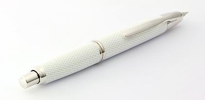 Stylo plume Graphite blanc de la gamme Capless Rhodium de Pilot - photo 2
