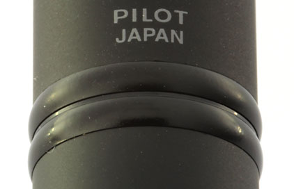 Stylo plume ultra noir mat de la gamme Capless de Pilot - photo 2