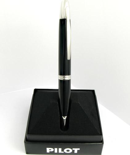 Stylo plume Noir de la gamme Capless Rhodium de Pilot - photo 6