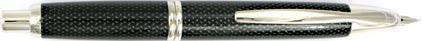 Stylo plume Graphite noir de la gamme Capless Rhodium de Pilot, cliquez pour plus de d�tails sur ce stylo...