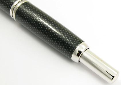 Stylo plume Graphite noir de la gamme Capless Rhodium de Pilot - photo.