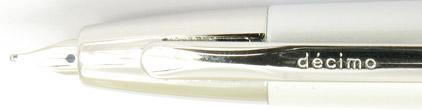Stylo plume Blanc Décimo Blanc Rhodium de Pilot - photo 4