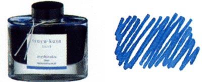 Encre Tsuyu-kusa (Fine comméline) Iroshizuku de Pilot, cliquez pour plus de détails sur ce stylo...