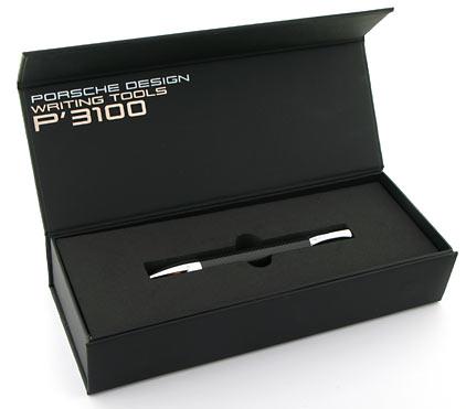Stylo bille de poche P'3140 carbone et chrome de Porsche Design - photo 4