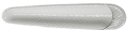 Grand fourreau blanc Casamance de Récife, cliquez pour plus de détails sur ce stylo...
