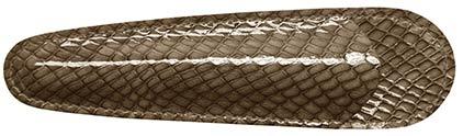 Petit fourreau taupe Casamance de Récife, cliquez pour plus de d�tails sur ce stylo...