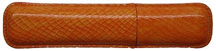 Etui orange Casamance de Récife, cliquez pour plus de d�tails sur ce stylo...