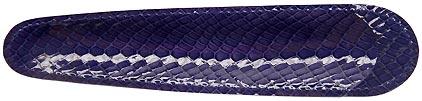 Petit fourreau indigo Casamance de Récife, cliquez pour plus de détails sur ce stylo...