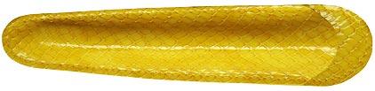 Petit fourreau jaune Casamance de Récife, cliquez pour plus de d�tails sur ce stylo...