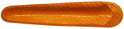 Petit fourreau orange Casamance de Récife