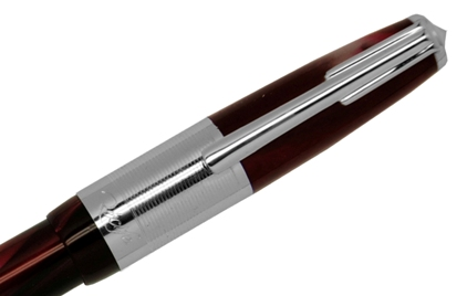 e-Roller Ambre Press Slim rouge de Recife - photo.