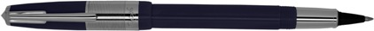 e-Roller Riviera Press Slim marine de Recife, cliquez pour plus de d�tails sur ce stylo...