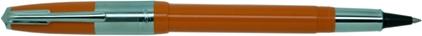 e-Roller Riviera Press Slim orange de Recife, cliquez pour plus de d�tails sur ce stylo...
