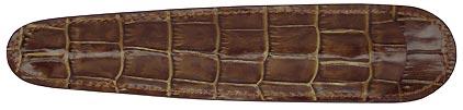 Petit fourreau marron Siam de Récife, cliquez pour plus de détails sur ce stylo...