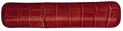 Etui rouge Siam de Récife, cliquez pour plus de détails sur ce stylo...