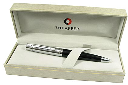 Stylo bille Gift 300 noir et chrome de Sheaffer - photo 3