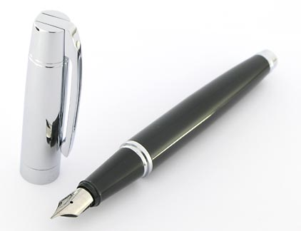 Stylo plume Gift 300 noir et chrome de Sheaffer - photo 2