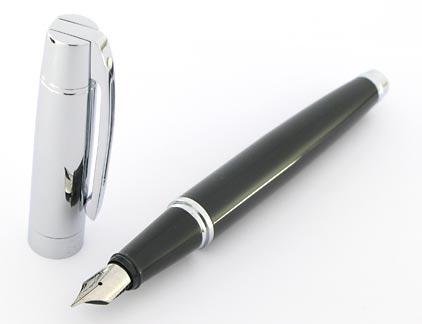 Stylo plume Gift 300 noir et chrome de Sheaffer - photo 2