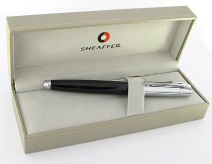 Stylo plume Gift 300 noir et chrome de Sheaffer - photo 5