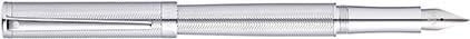 Stylo plume Intensity chrome et chevrons de Sheaffer, cliquez pour plus de d�tails sur ce stylo...