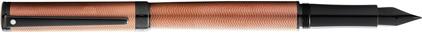 Stylo plume Intensity laque bronze chevrons attributs noir de Sheaffer, cliquez pour plus de d�tails sur ce stylo...