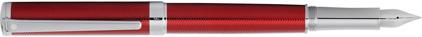 Stylo plume Intensity laque rouge chevrons de Sheaffer, cliquez pour plus de d�tails sur ce stylo...