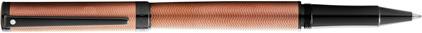 Roller Intensity laque bronze chevrons attributs noir de Sheaffer, cliquez pour plus de d�tails sur ce stylo...