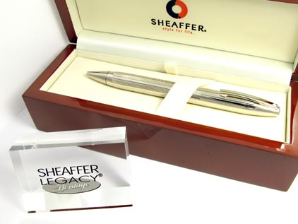Stylo bille Legacy filté palladium de Sheaffer - photo 4