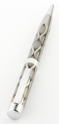 Stylo bille Aspen Wave Gun / Chrome de Vuarnet - photo 3