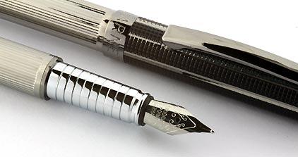 Parure plume / stylo City noir gun Aspen de Vuarnet - photo 3