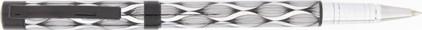 Roller Aspen Wave Chromé / Noir de Vuarnet , cliquez pour plus de d�tails sur ce stylo...