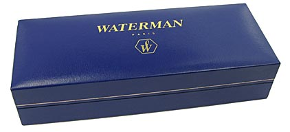 Stylo plume Expert laqué noir attributs chromés de Waterman - photo 6
