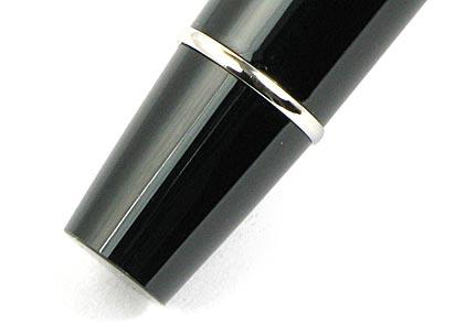 Roller Expert laqué noir attributs chromés de Waterman - photo 4