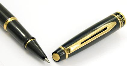 Roller Expert Laqué Noir attributs dorés de Waterman - photo 4