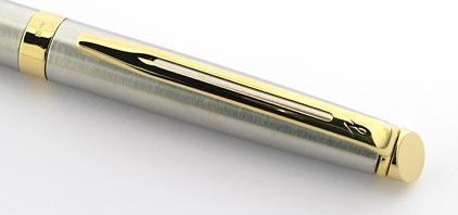 Stylo bille Hémisphère acier attributs dorés de Waterman - photo 2