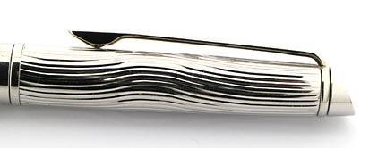 Stylo bille Hémisphère Deluxe blanc attributs palladiés de Waterman - photo 2