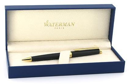 Portemine 0,5 Hémisphère noir mat attributs dorés de Waterman - photo 3